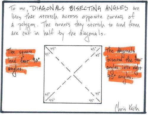 bisecting diagonals. Black Bedroom Furniture Sets. Home Design Ideas